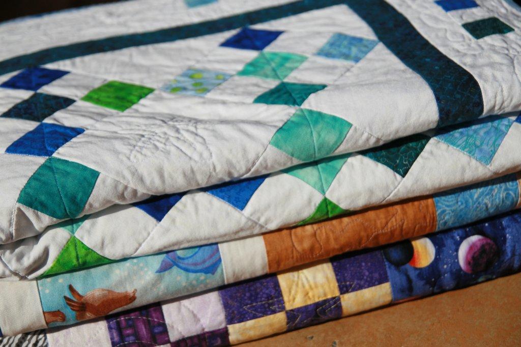 C mo escoger telas para patchwork fibra creativa - Patchwork para principiantes patrones ...