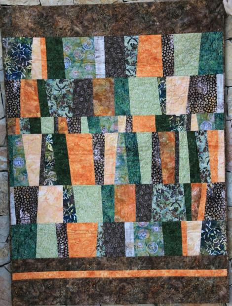 Colcha de patchwork para hombre, de batiks