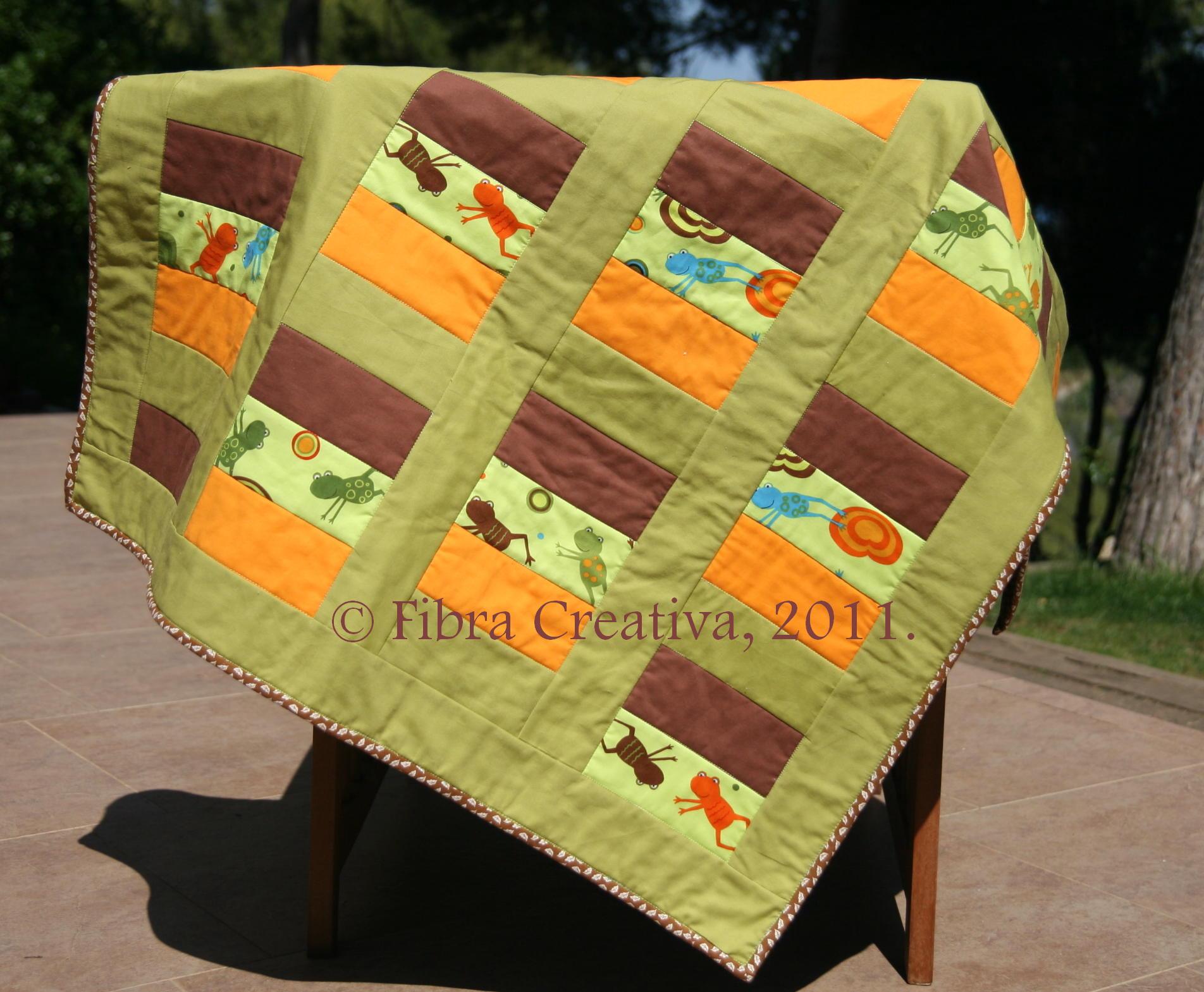 Patchwork infantil fibra creativa - Colchas patchwork infantiles ...
