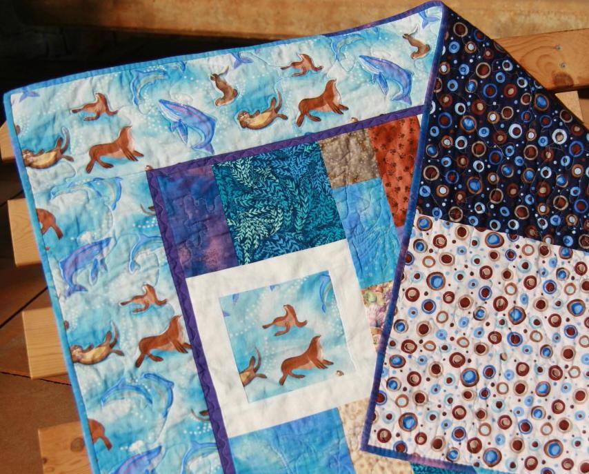 Colcha de patchwork infantil marina fibra creativa - Colchas patchwork infantiles ...