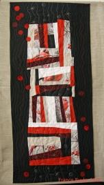 Art quilt Solstice d'hiver France Buyle 2012
