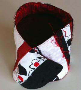 Cuello regalo de Navidad en patchwork