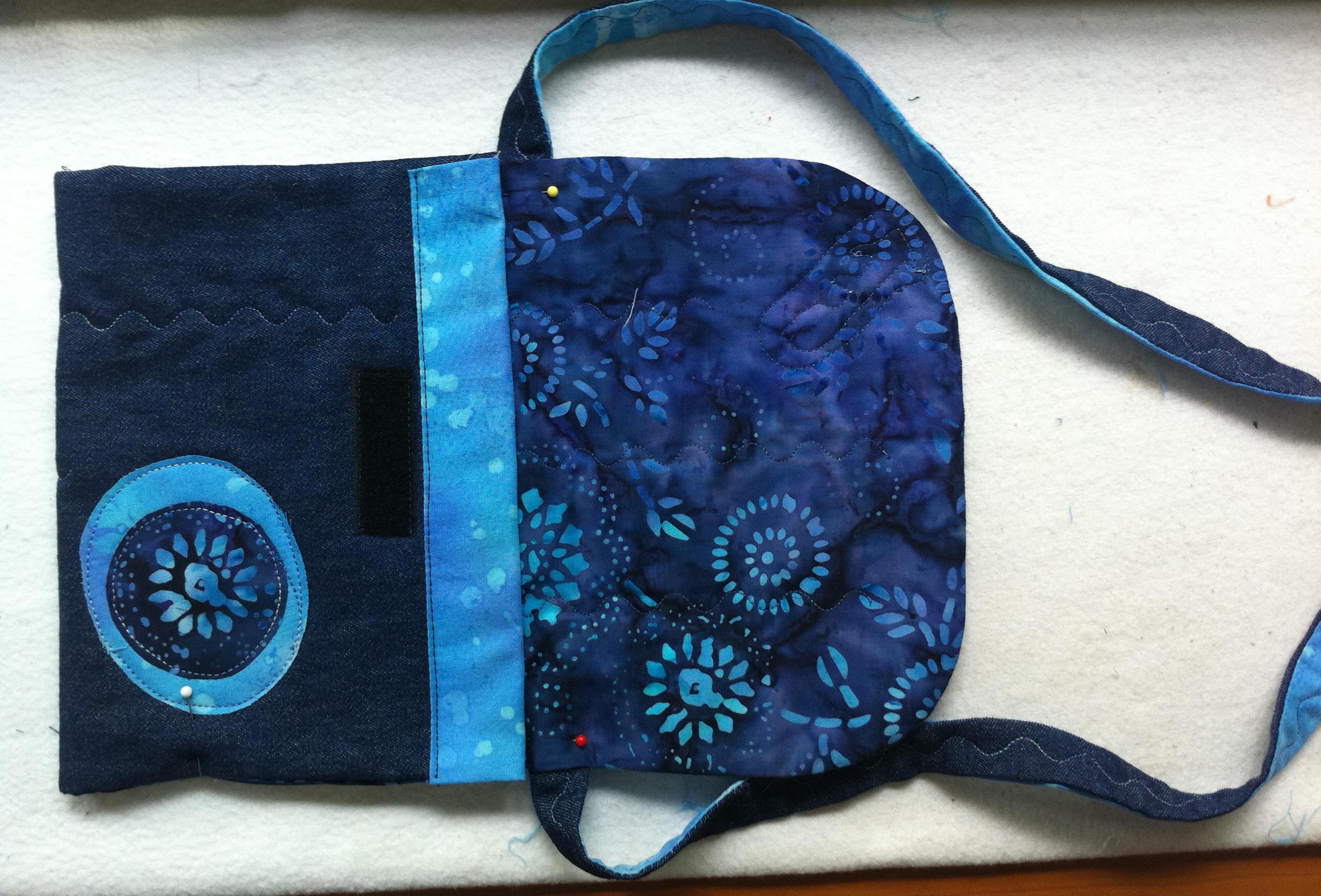 Tutorial como hacer bolsos de tela imagui - Telas para hacer bolsos ...