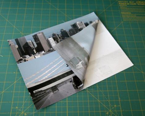 fotos impresa sobre tela preparada para imprimir