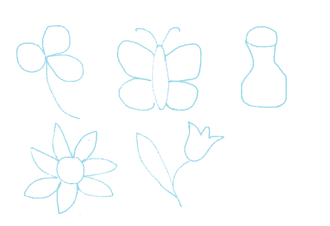 Imagenes De Mariposas Para Dibujar Con Lapiz