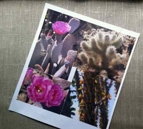 impresión fotográfica sobre tela de algodón o seda