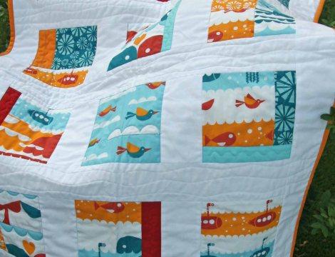 colcha de patchwork para bebé