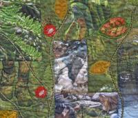 Art quilts con fotos impresas sobre tela