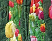 kits de patchwork flores colores primavera