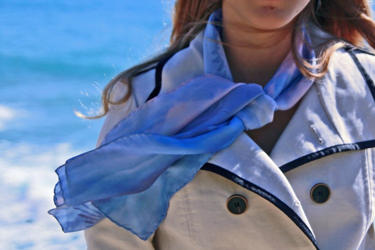Fular de seda (Fibra Creativa)