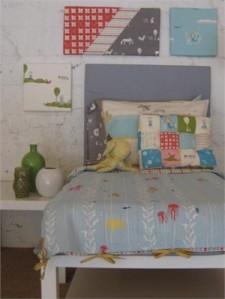 juego de cama infantil tela ecológica
