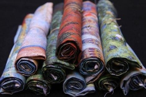 colección lino estampado impresionista