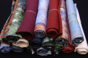 fat quarters lino estampado original