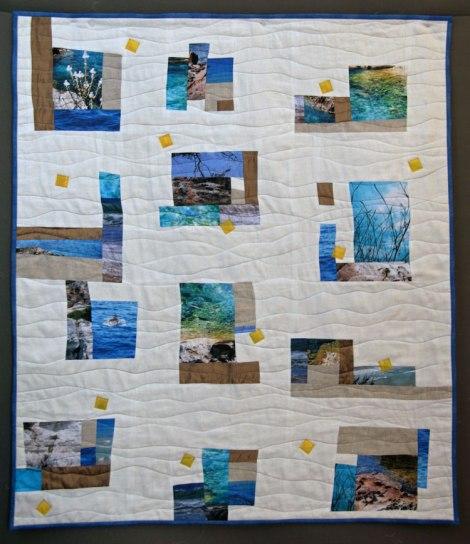 quilt contemporáneo menorca France Buyle 2014