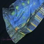 """Fular de seda Van Gogh """"La noche estrellada"""""""