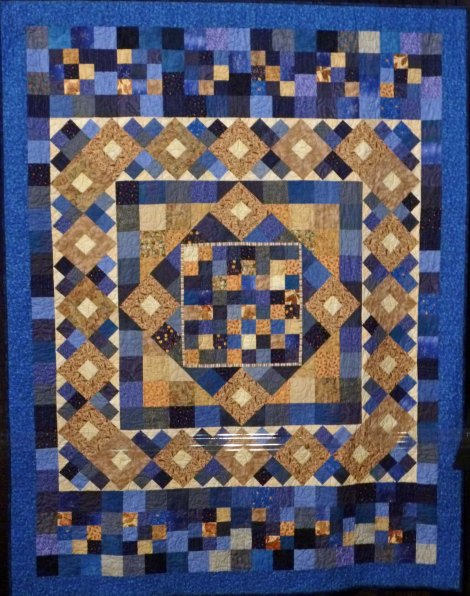 scrapy quilt