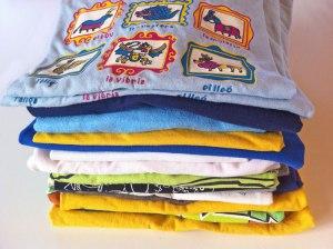 camisetas usadas reciclar