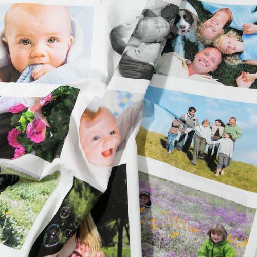 panel de fotos impreso sobre tela algodón