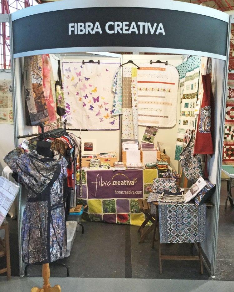 Stand Fibra Creativa en Crearte Granada 2016